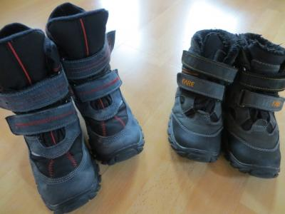 bd66faba6b5 zimní boty Fare 32 a 2x 33